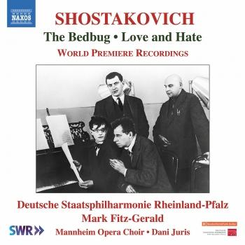 Cover Shostakovich: The Bedbug Suite, Op. 19a & Love and Hate, Op. 38