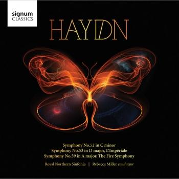 Cover Haydn: Symphonies Nos. 52, 53, and 59