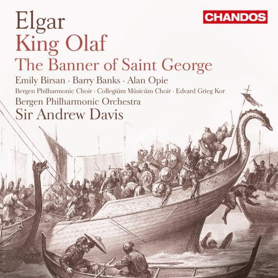 Cover Elgar: Scenes from the Saga of King Olaf & The Banner of St. George