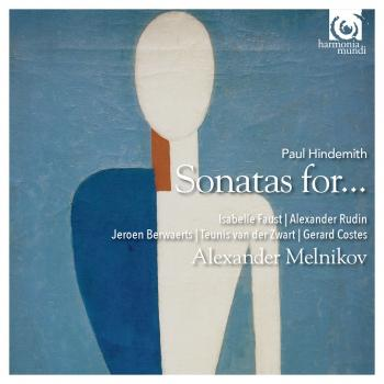 Cover Hindemith: Sonatas for piano and…