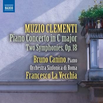 Cover Clementi: Piano Concerto in C Major (1796) - Two Symphonies, Op. 18