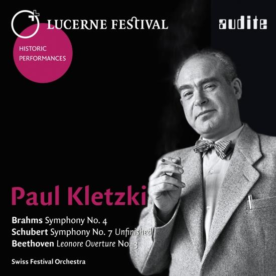 Cover Lucerne Festival Historic - Paul Kletzki conducts Brahms, Schubert & Beethoven (Remastered)