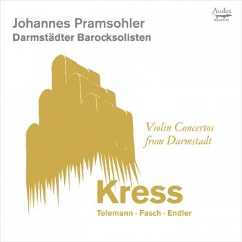 Cover Violin Concertos from Darmstadt