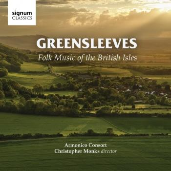 Cover Greensleeves - Folk Music of the British Isles