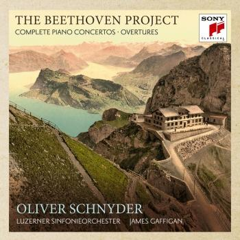 Cover The Beethoven Project - The 5 Piano Concertos & 4 Overtures