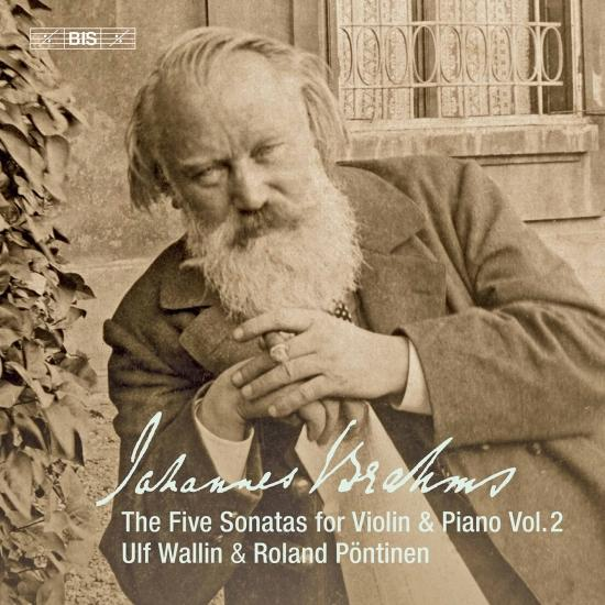 Cover Brahms: Works for Violin & Piano, Vol. 2