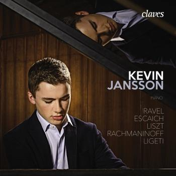 Cover Ravel, Escaich, Liszt, Rachmaninoff & Ligeti: Works for Piano