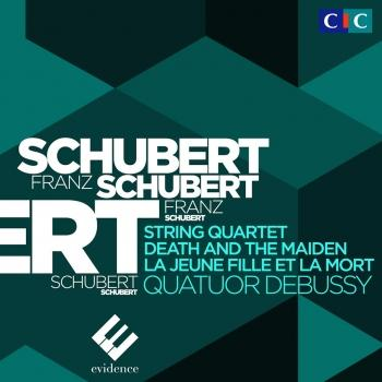 Cover Schubert: String Quartet No. 14 'Death and the Maiden'