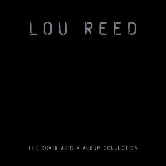 Cover Lou Reed - The RCA & Arista Album Collection (Remastered)