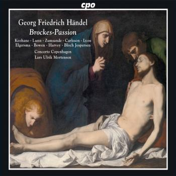 Cover Handel: Brockes Passion, HWV 48