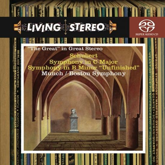 Cover Schubert: Symphony No. 9 in C Major 'Great' / Symphony No. 8 'Unfinished'