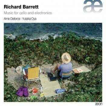 Cover Barrett: Music for Cello and Electronics