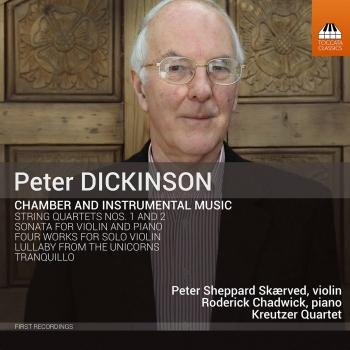 Cover Peter Dickinson: Chamber & Instrumental Music