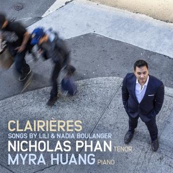 Cover Clairières: Songs by Lili & Nadia Boulanger