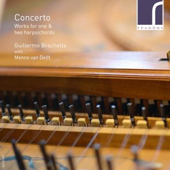 Cover Concerto: Works for One & Two Harpsichords