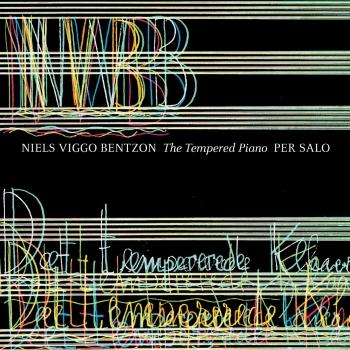 Cover Bentzon: The Tempered Piano
