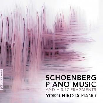 Cover Schoenberg: Piano Music