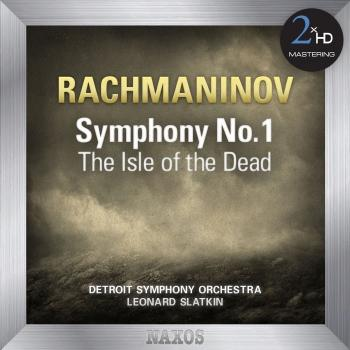 Cover Rachmaninov: The Isle of the Dead - Symphony No. 1