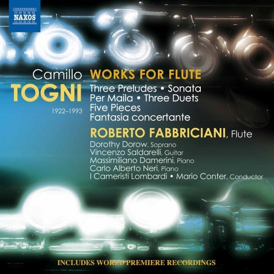 Cover Togni: Works for Flute