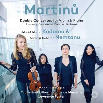 Cover Martinů: Double Concertos