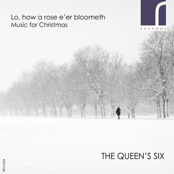 Cover Lo, how a rose e'er blooming: Music for Christmas