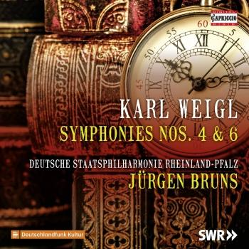 Cover Weigl: Symphonies Nos. 4 & 6