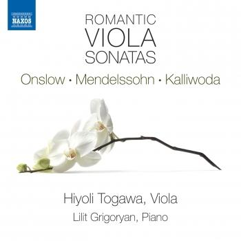 Cover Romantic Viola Sonatas