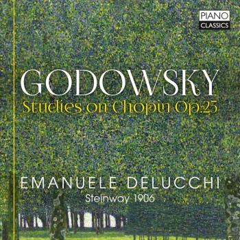 Cover Godowsky: Studies on Chopin, Op. 25