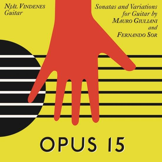 Cover Op. 15, Sonatas and Variations for Guitar by Mauro Giuliani and Fernando Sor