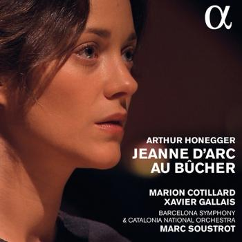 Cover Honegger: Jeanne d'Arc au bûcher