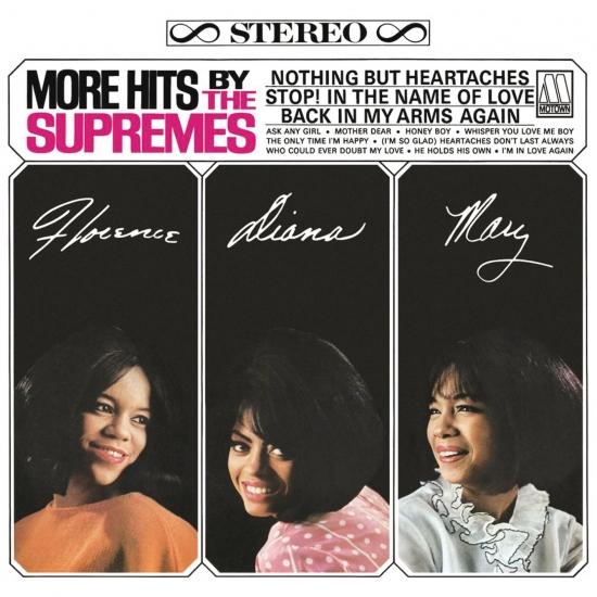Cover More Hits By The Supremes