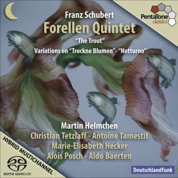 Cover Schubert, F.: Piano Quintet in A major, D667 'The Trout' (Die Forelle)