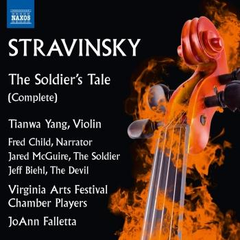 Cover Stravinsky: The Soldier's Tale