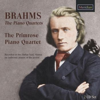 Cover Brahms: The Piano Quartets