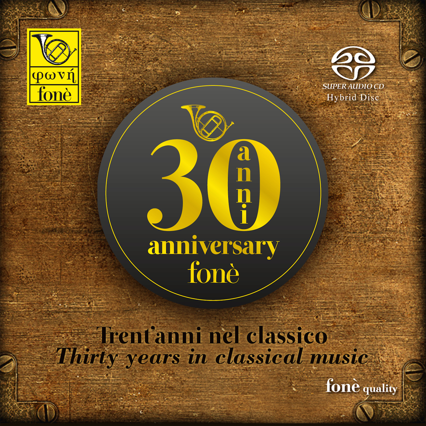 Cover fonè Trent'anni nel classico - Thirty Years in Classical Music
