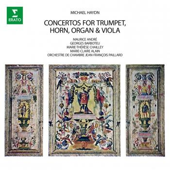 Cover M. Haydn: Concertos for Trumpet, Horn, Organ & Viola (Remastered)