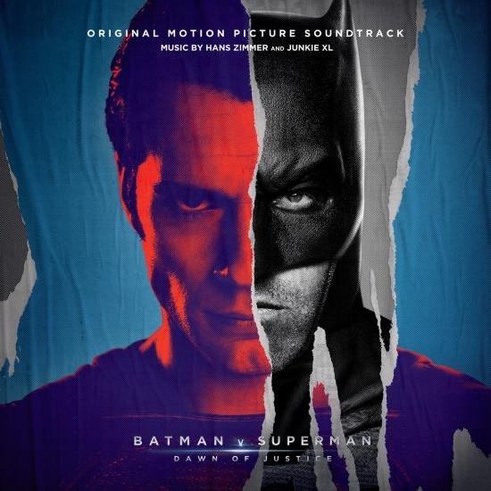 Cover Batman v Superman: Dawn Of Justice (Original Motion Picture Soundtrack) (Deluxe)