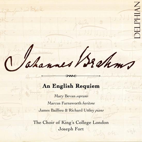 Cover Brahms: An English Requiem