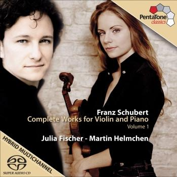 Cover Schubert, F.: Violin and Piano Music (Complete), Vol. 1