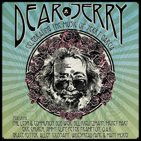 Cover Dear Jerry: Celebrating The Music Of Jerry Garcia