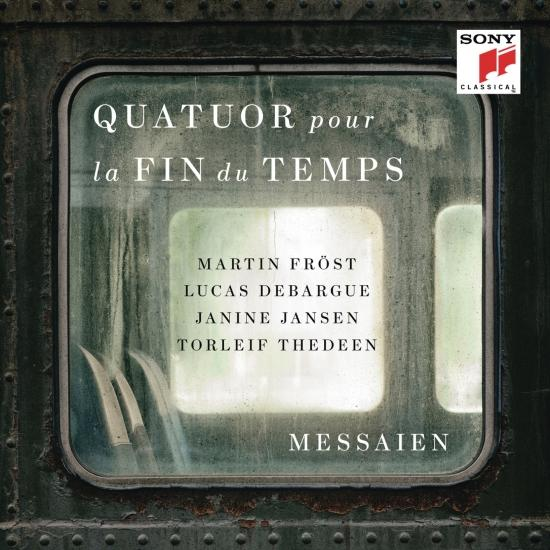 Cover Messaien: Quatuor pour la fin du temps (Quartet for the End of Time)