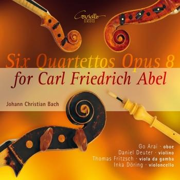 Cover Johann Christian Bach: Six quartettos for Carl Friedrich Abel