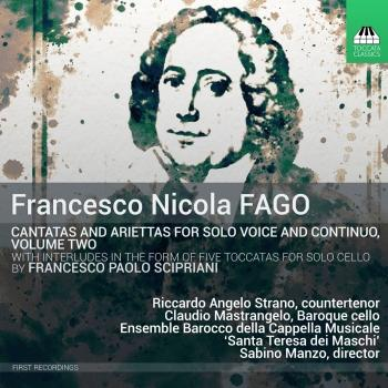 Cover Fago: Cantatas for Solo Voice & Continuo, Vol. 2