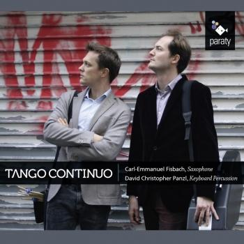 Cover Tango Continuo (Works by Astor Piazzolla, Luis Naón and Mathieu Bonilla)