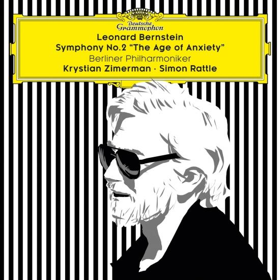 Cover Bernstein: Symphony No. 2 'The Age of Anxiety'