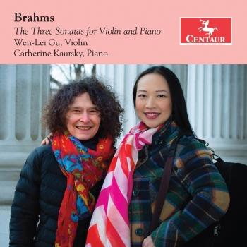 Cover Brahms: The 3 Sonatas for Violin & Piano