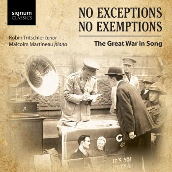 Cover No Exceptions, No Exemptions: Great War Songs