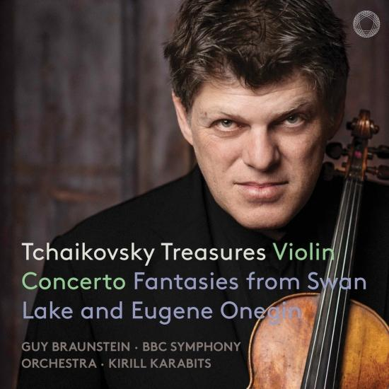 Cover Tchaikovsky Treasures